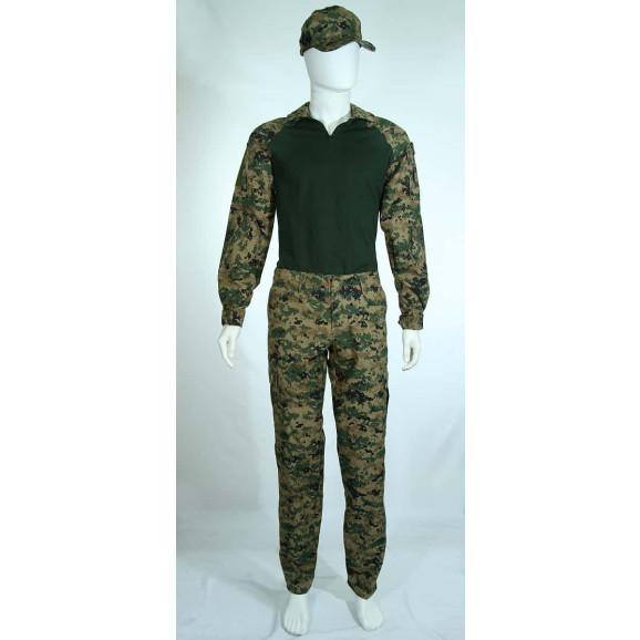 Farda Combat Shirt camuflado Marpat frente