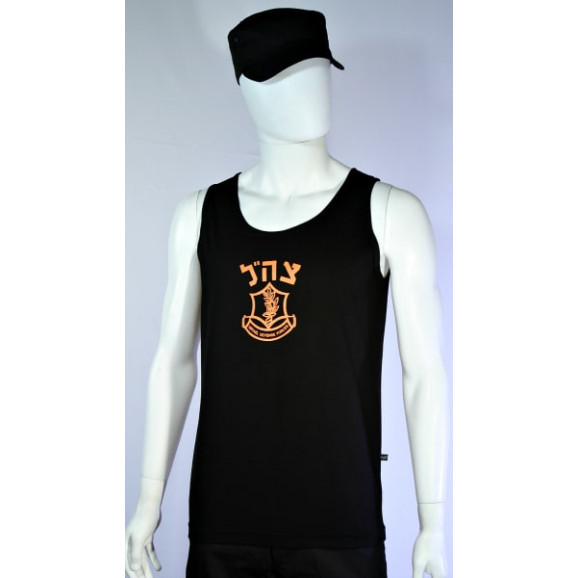 camiseta-regata-exercito-de-israel-preto