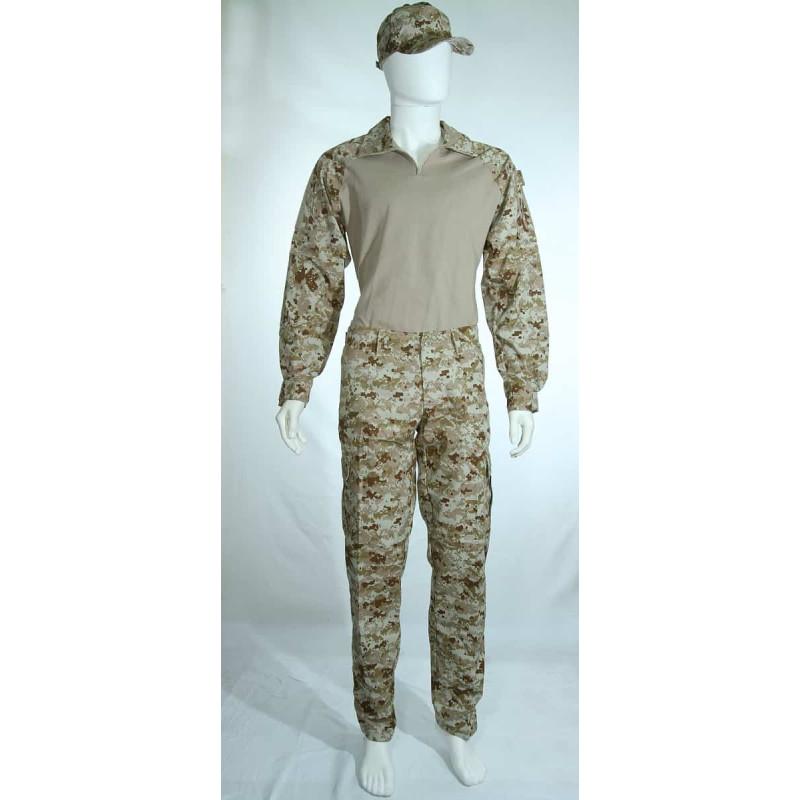 Conjunto Combat Shirt Digital Deserto d5170052f19