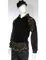 Gandola Combat Shirt Multicam Black