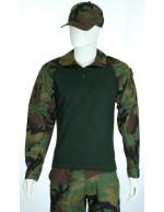 Gandola Combat Shirt Americano Woodland