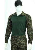 Gandola Combat Shirt Digital Florestal