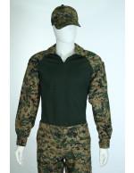Gandola Combat Shirt Digital Marpat Woodland