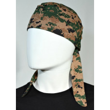 Bandana Digital Marpat Woodland