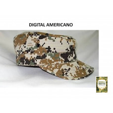 Boné Militar Digital Americano