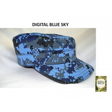 Boné Militar Digital Blue Sky
