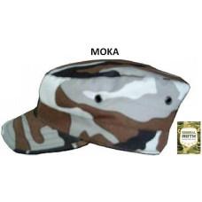 Boné Militar Moka