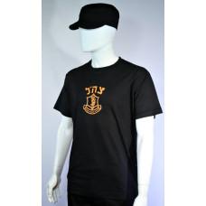 camiseta-exercito-israel-preto