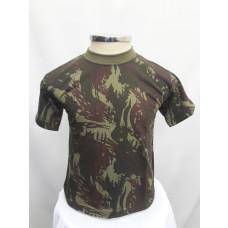 Camiseta Infantil Camuflado Exército Brasileiro frente