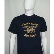 Camiseta Manga Curta Navy Seals Azul Marinho