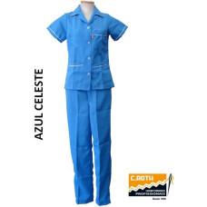 uniforme-de-copeira-azul-celeste-com-vivo