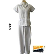 uniforme-de-copeira-bege-com-bordado