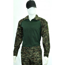 Gandola Combat Shirt Digital Florestal