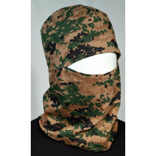 Touca Ninja Digital Marpat Woodland