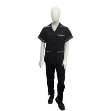 uniforme de copeira em twoway frente
